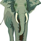 Elephant Full Illustration by Fjfichman