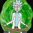 Rick and Morty Zen Meditation  by savesarah