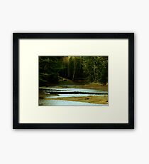 Quiet Cove Framed Print