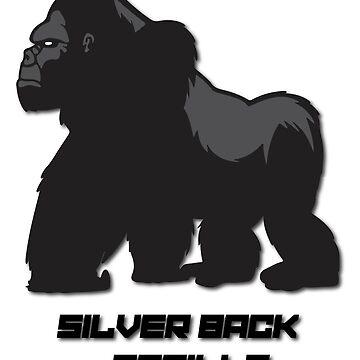 Silverback Gorilla  von Castiel3