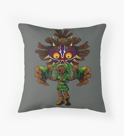 Cursed! Throw Pillow