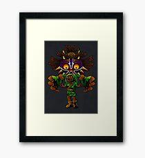 Cursed! Framed Print