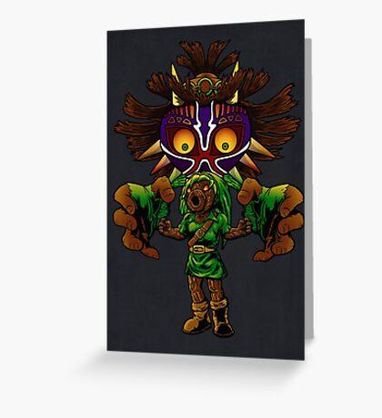 Cursed! Greeting Card