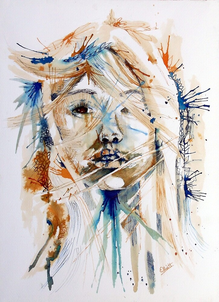 The Student by Pat  Elliott