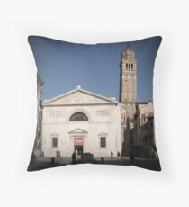All These People - Venice, Campo San Maurizio Throw Pillow