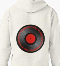 Vinyl - Everything sounds better on vinyl 2nd design Pullover Hoodie