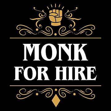 Monk For Hire de pixeptional