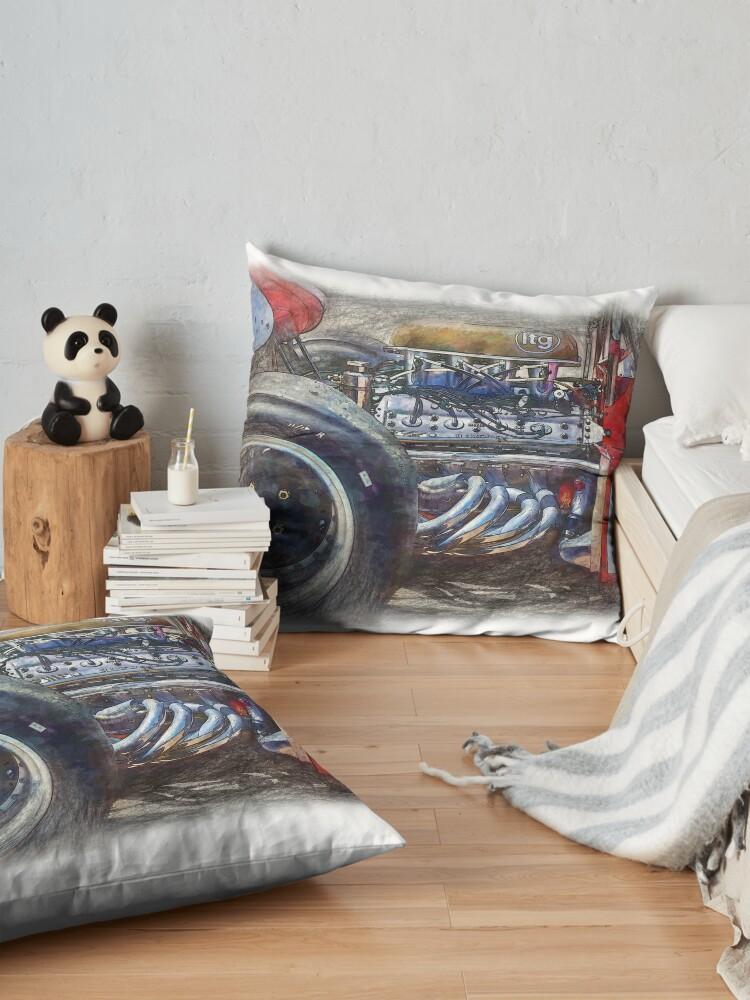 Alternate view of 1972 Surtees TS9B Floor Pillow
