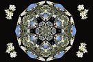 Cherry Blossom Kaleidescope by MarjorieB