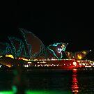 Vivid Sydney Opera House by TrinityCentaur