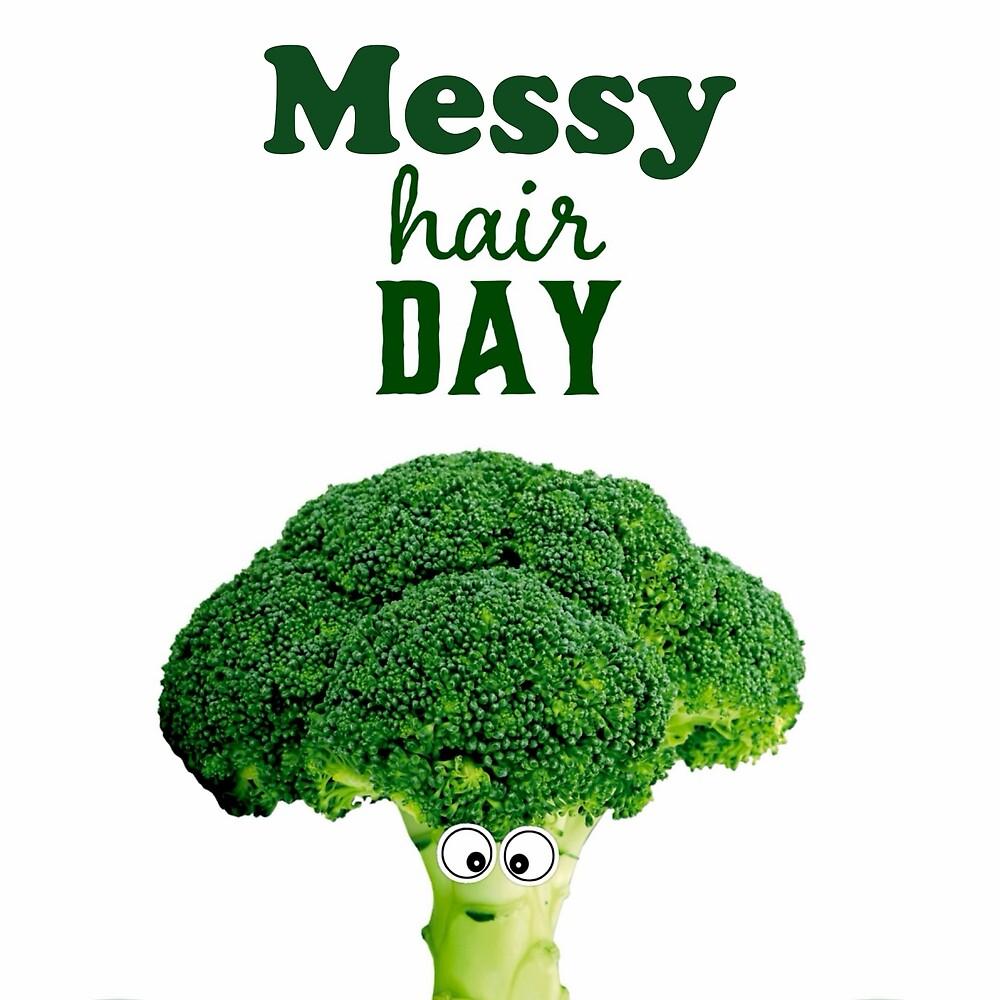 Messy hair day by Melinda Szente