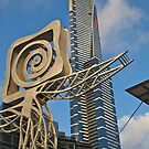 Eureka Tower, Southbank, Melbourne. by johnrf