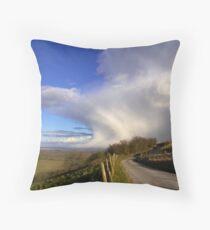 Storm passing Inkpen Beacon Throw Pillow
