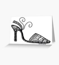 Shoe Fetish Greeting Card