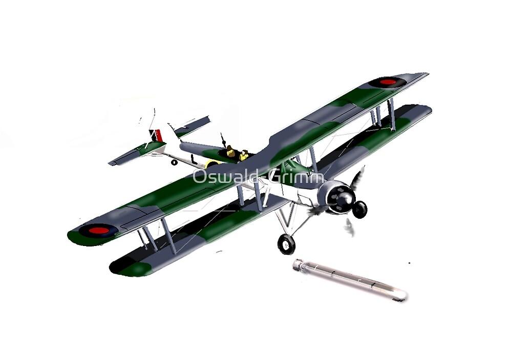 Swordfish Torpedo Bomber 1941 by Oswald-Grimm
