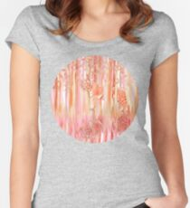 Tiger in the Trees Women's Fitted Scoop T-Shirt