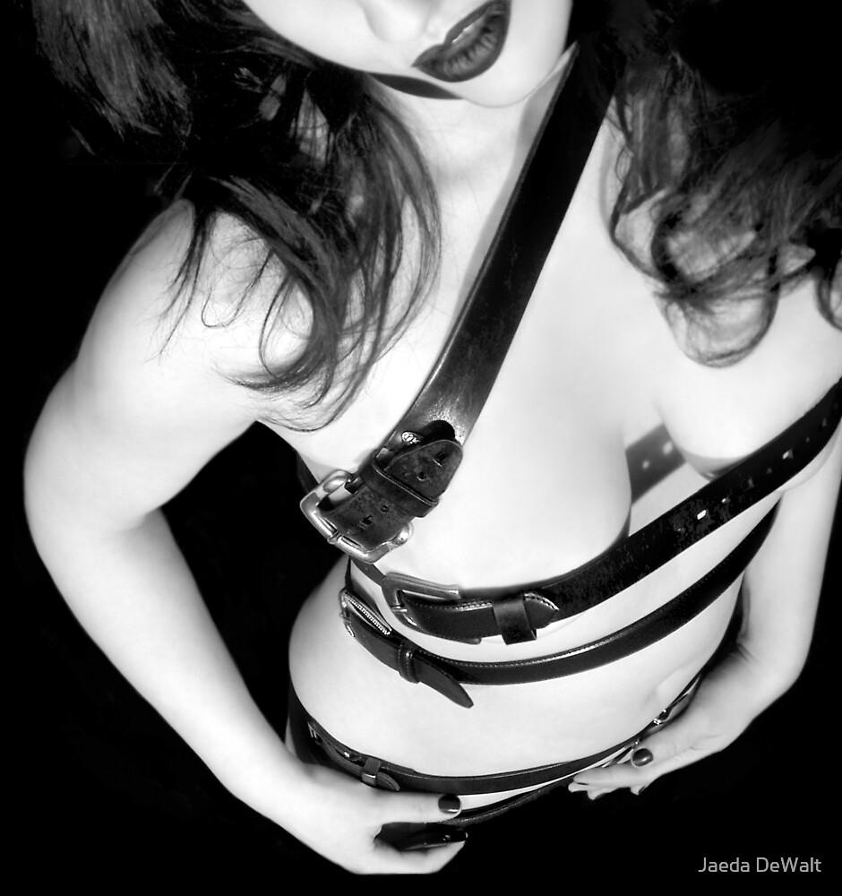 Belted 1 - Self Portrait by Jaeda DeWalt