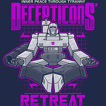 Decepticons' Retreat by Adho1982