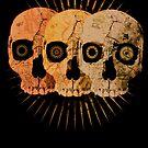 Three Skulls by David Atkinson