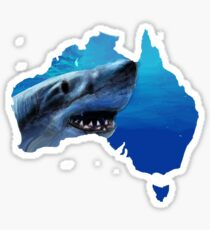 Australian coast  Sticker