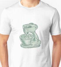 Kitchen Mixer Vintage Etching T-Shirt
