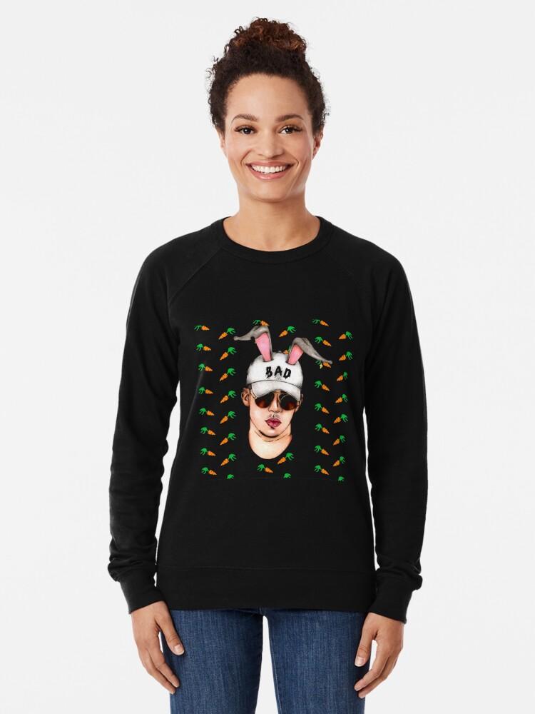 Alternative Ansicht von Karotte für mein schlechtes Häschen Leichter Pullover