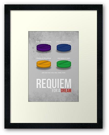 REQUIEM FOR A DREAM - MINIMAL  by HDMI2K
