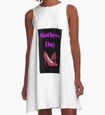 Muttertag A-Linien Kleid