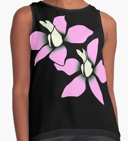 wundervolle pinke Blüten, Blumen, pink, rosa Kontrast Top