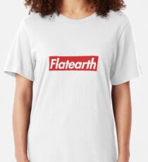Supreme Flat Earth Slim Fit T-Shirt