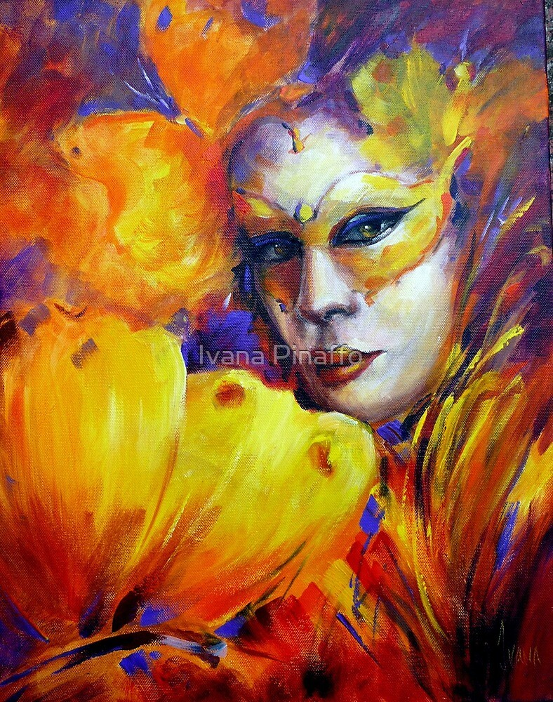The butterly Mask by Ivana Pinaffo