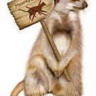 Meerkats Only by Karen  Hull