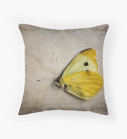 Elegy  Throw Pillow