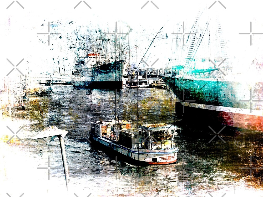 Hamburg Barkasse by Bianka Schüssler