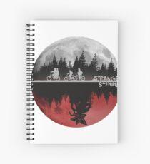 Stranger Things Spiral Notebook