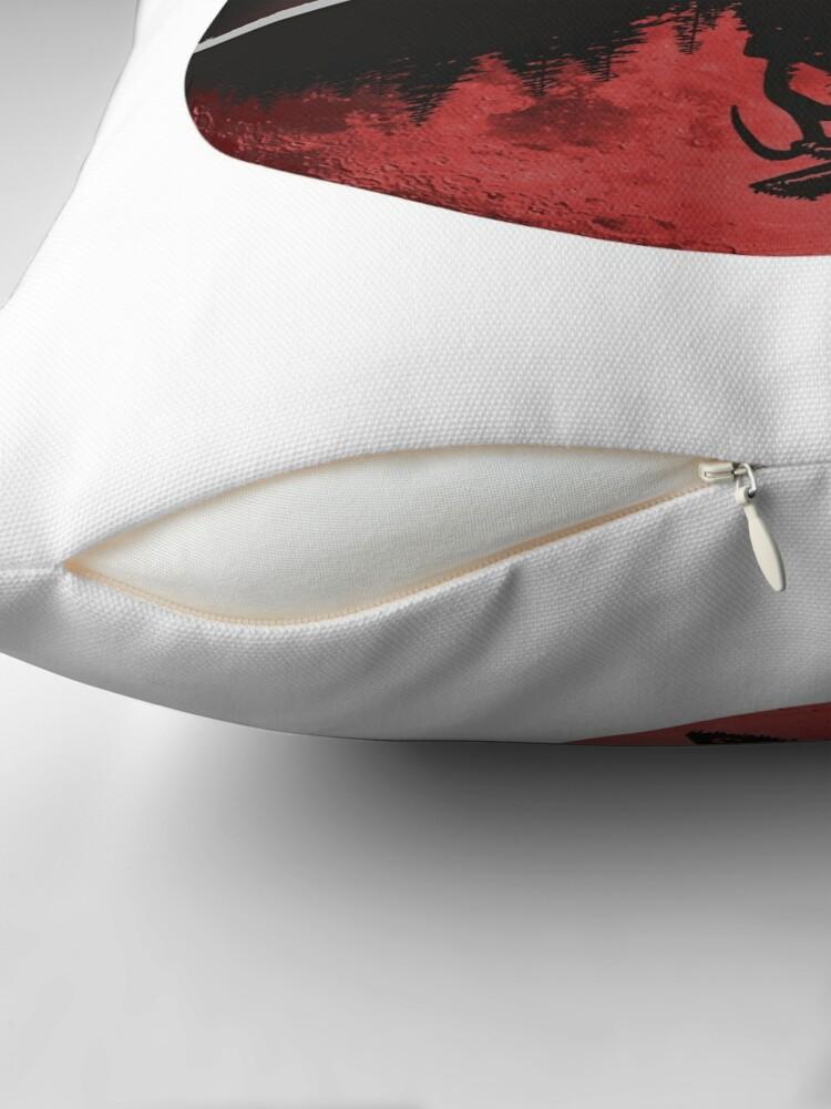 Alternate view of Stranger Things Throw Pillow