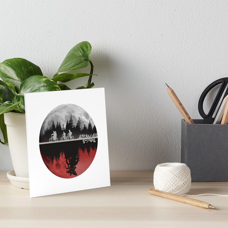 Stranger Things Art Board Print