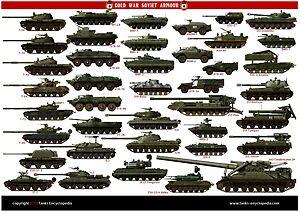 Soviet cold war poster