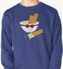 Fish fingers and custard Pullover