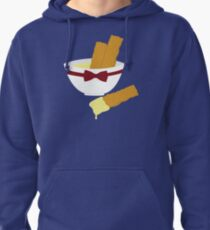 Fish fingers and custard Pullover Hoodie