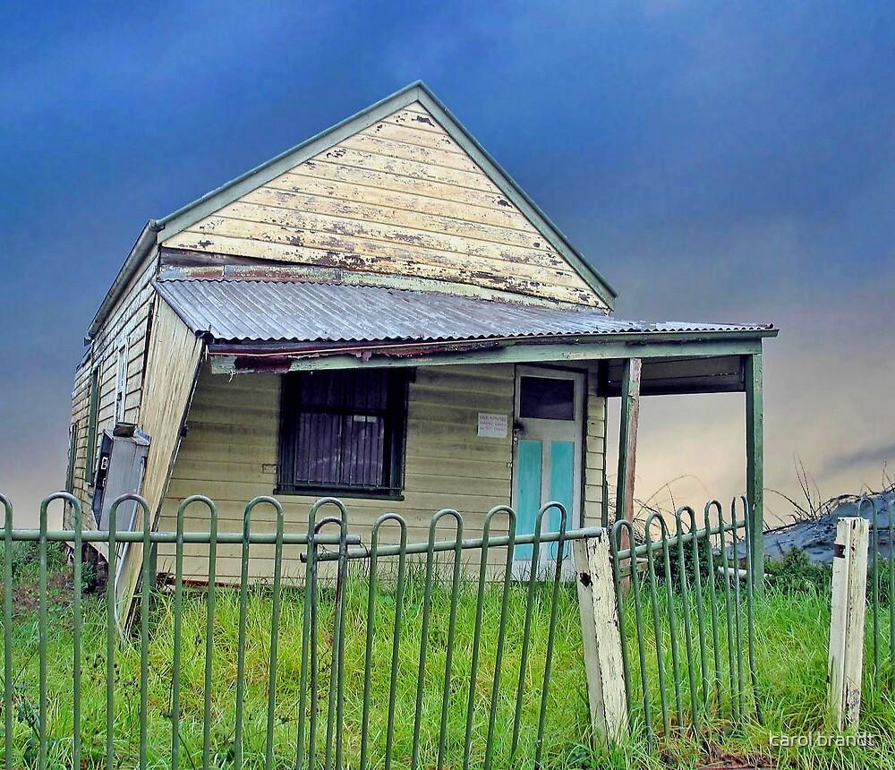 derelict house by carol brandt