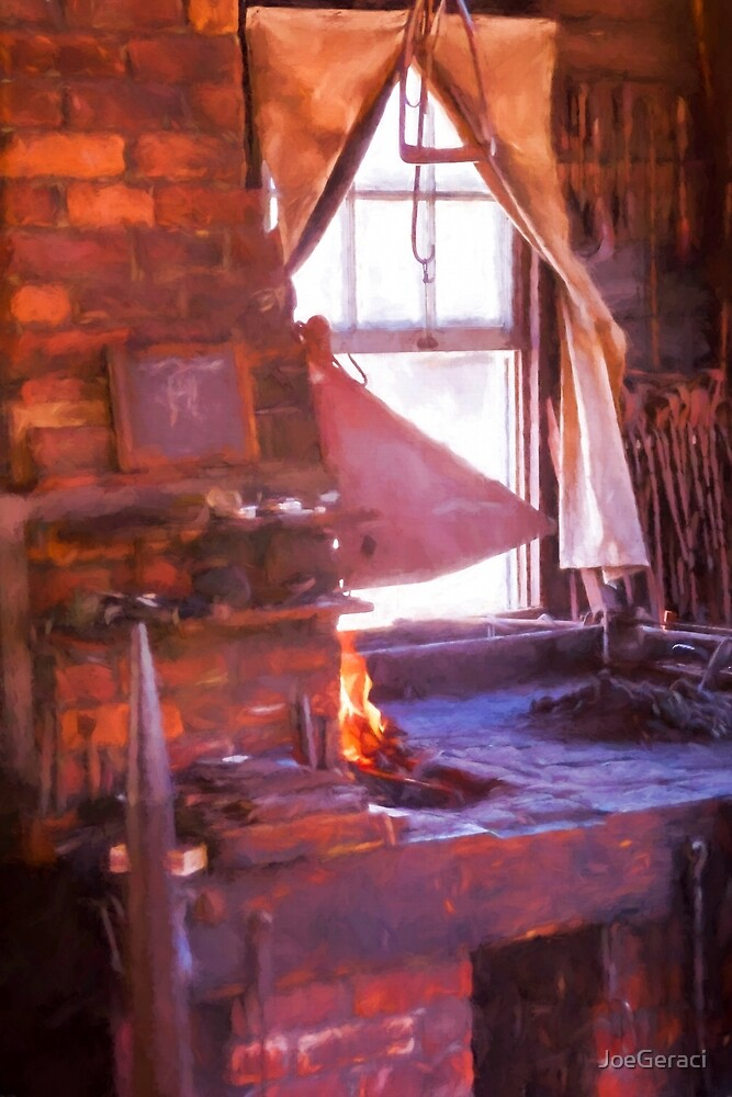 Blacksmith Afternoon by JoeGeraci
