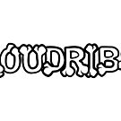 Loudribs Logo (White Text) by loudribs