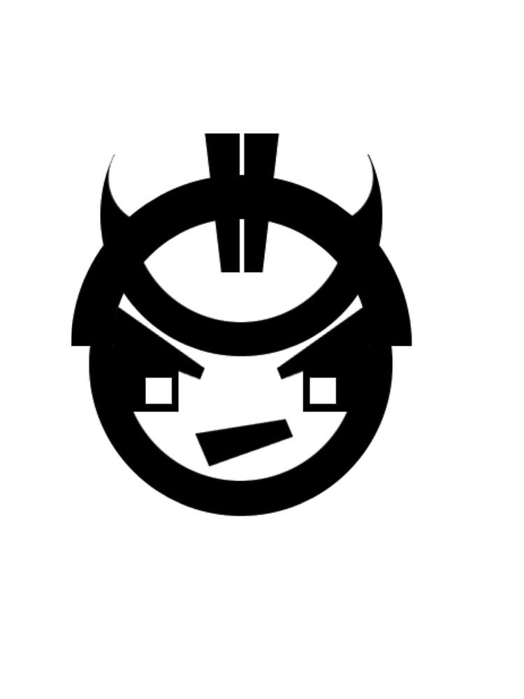 Samurai Stencil by Zlash