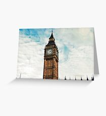 bigben Greeting Card