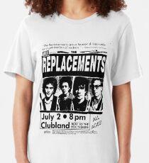 The Replacements Vintage Classic Concert Detroit Windsor Slim Fit T-Shirt