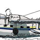 «Grumman Mallard Flying Boat» de Statepallets
