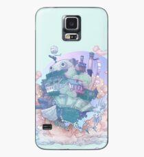 Funda/vinilo para Samsung Galaxy Aullidos en movimiento castillo