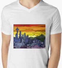 Seattle Pride Cityscape T-Shirt