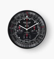 Black Navitimer BOC Wall Clock  Clock